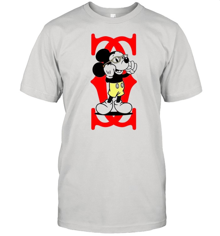 Mickey Mouse Cartier Capital boss up shirt
