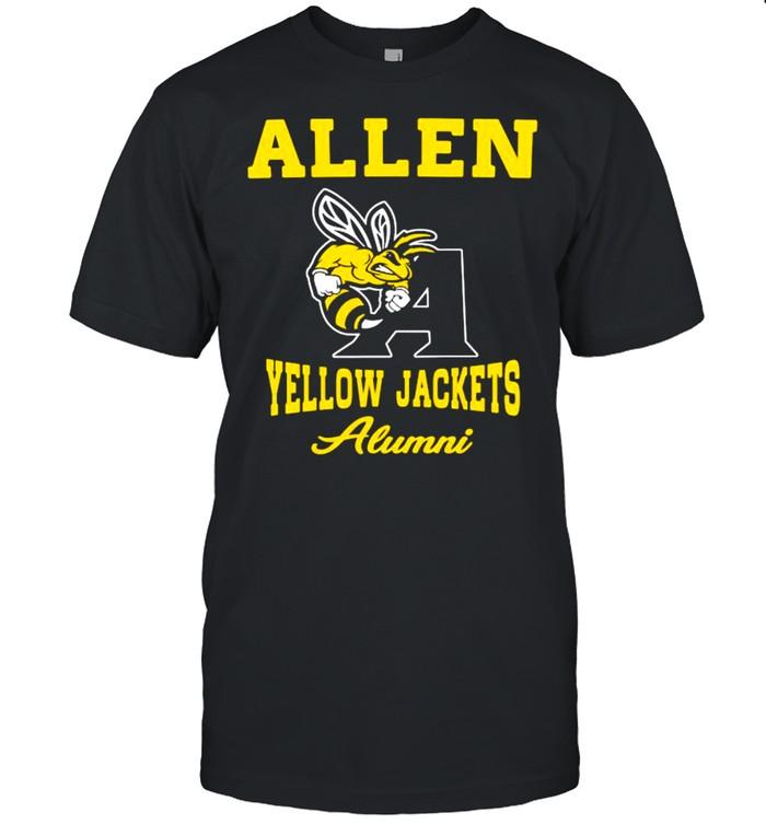 Allen Yellow Jackets Alumni Bee shirt Classic Men's T-shirt