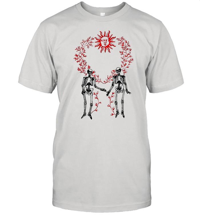 Dabbing Skeleton Up From Below shirt Classic Men's T-shirt