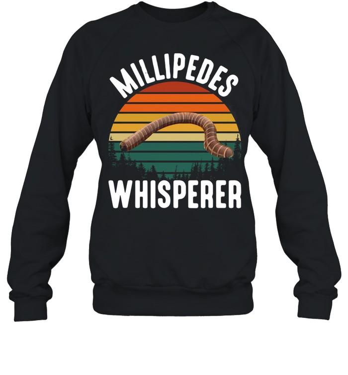 Millipedes Whisperer Vintage Retro shirt Unisex Sweatshirt