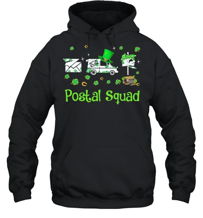Postal Squad Patricks Day shirt Unisex Hoodie