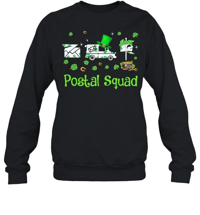 Postal Squad Patricks Day shirt Unisex Sweatshirt