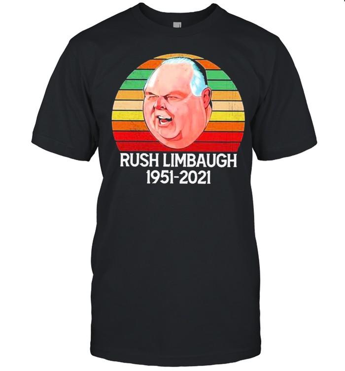 The Rush Limbaugh 1957 2021 vintage shirt Classic Men's T-shirt