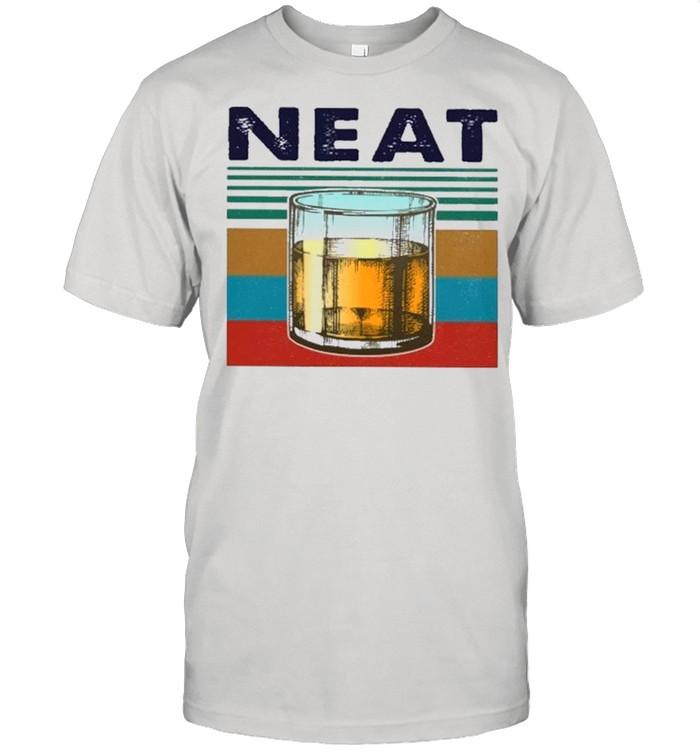 Vintage Retro Neat Bourbon shirt Classic Men's T-shirt