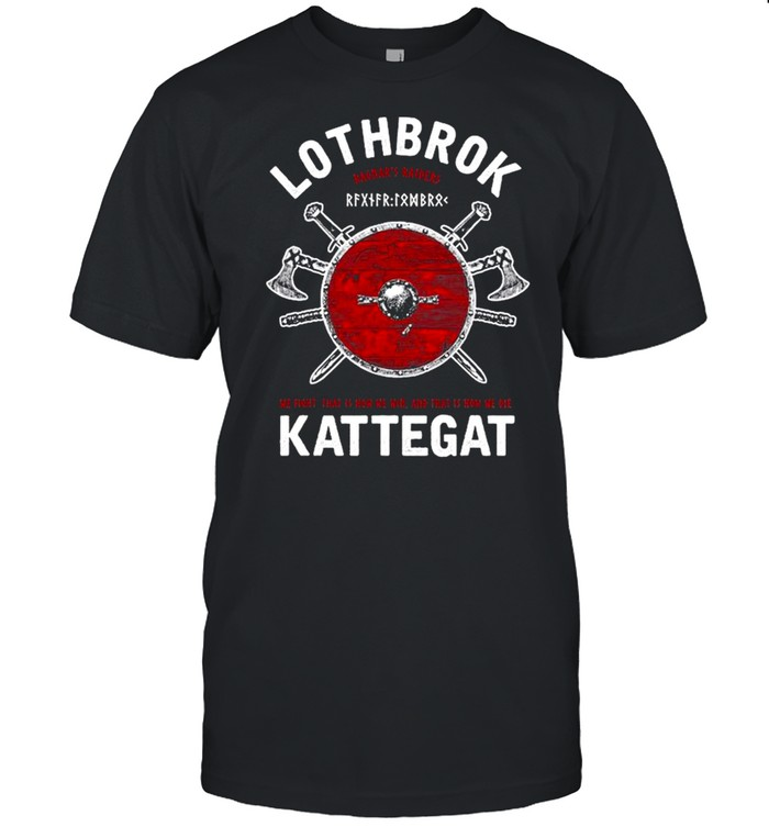 Ragnar Lothbrok Of Kattegat shirt Classic Men's T-shirt