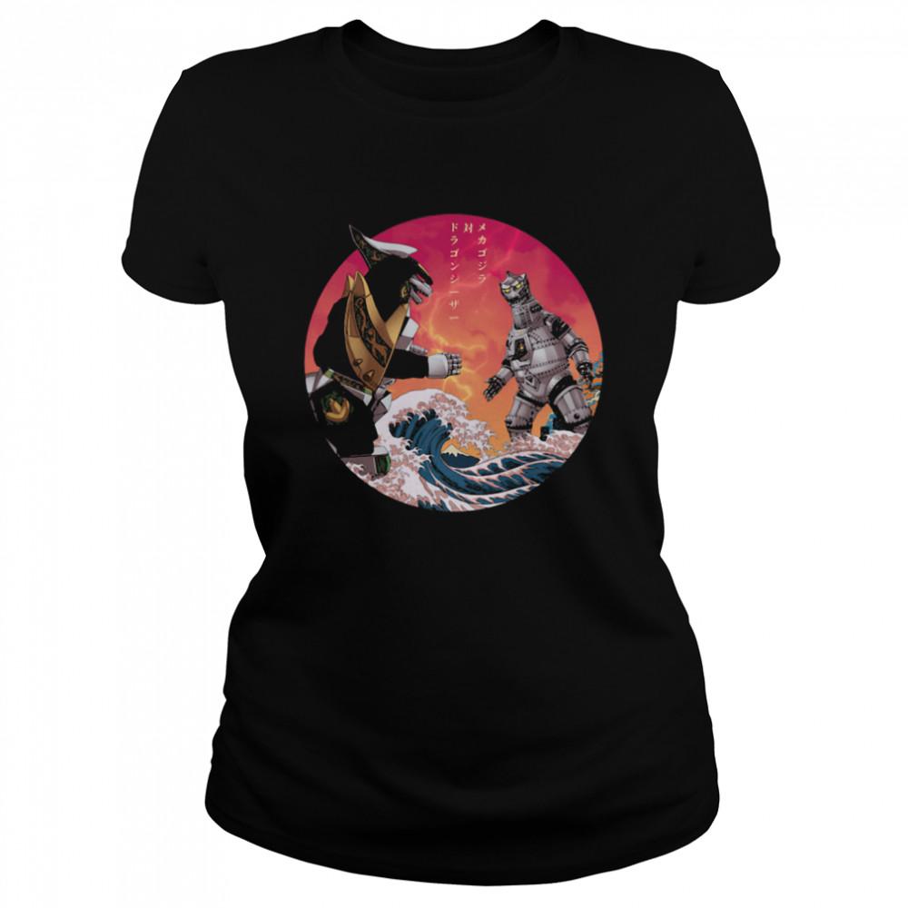 Discover Japan Mechagodzilla Vs Godzilla shirt Classic Women's T-shirt
