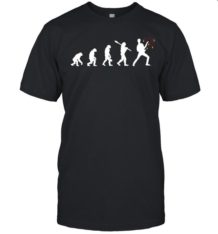 Evolution Of Man Guitar Rock Guitarist shirt Classic Men's T-shirt
