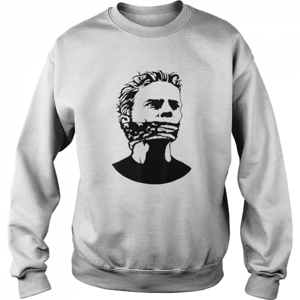 Freedom Of Speech And Expression shirt Unisex Sweatshirt