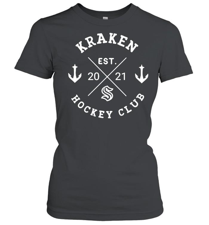 Kraken hockey club est 2021 shirt Classic Women's T-shirt