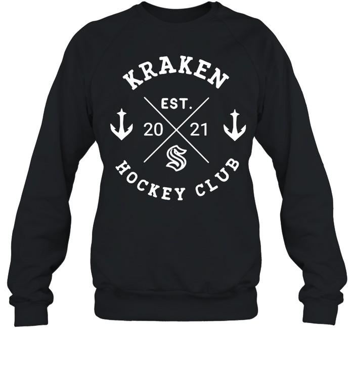 Kraken hockey club est 2021 shirt Unisex Sweatshirt