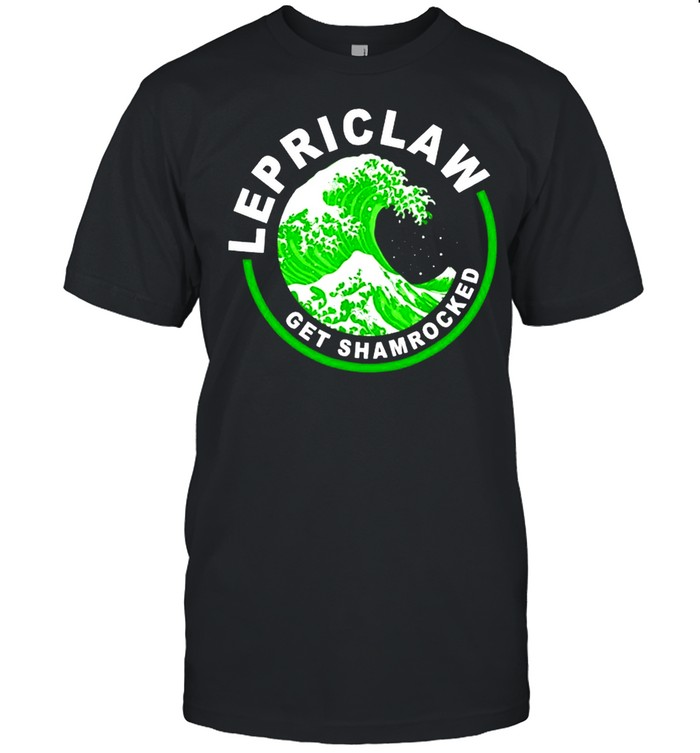 Lepriclaw Get Shamrocked Drinking St Patricks Day shirt