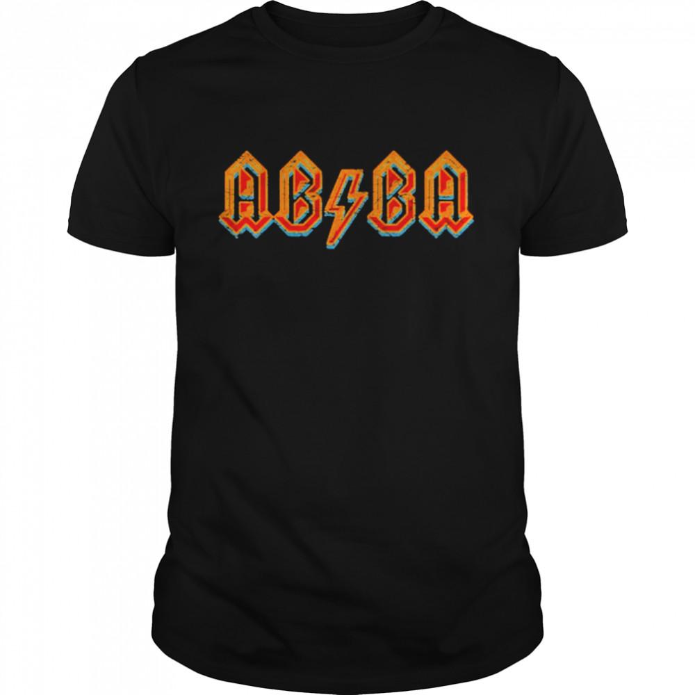 Lightning Bolt Abba Vintage Aged Multicolo shirt