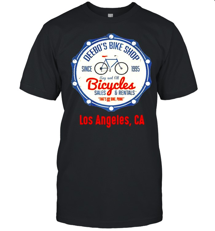 Los Angeles  Funny Deebos Bike Rentals Joke shirt