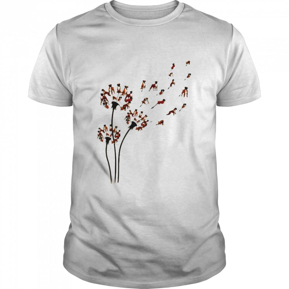 Pisces Boxer Dandelion shirt Classic Men's T-shirt