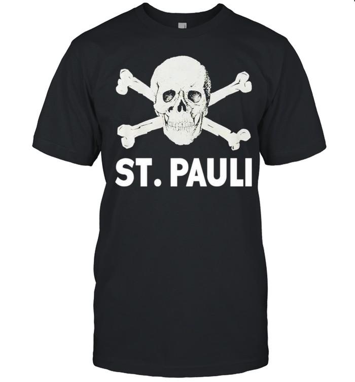 St Pauli skull shirt