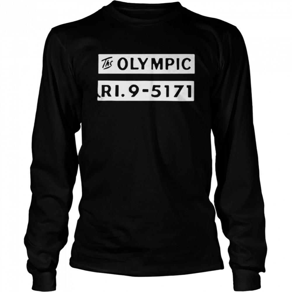 The olympic ri9 5171 shirt Long Sleeved T-shirt