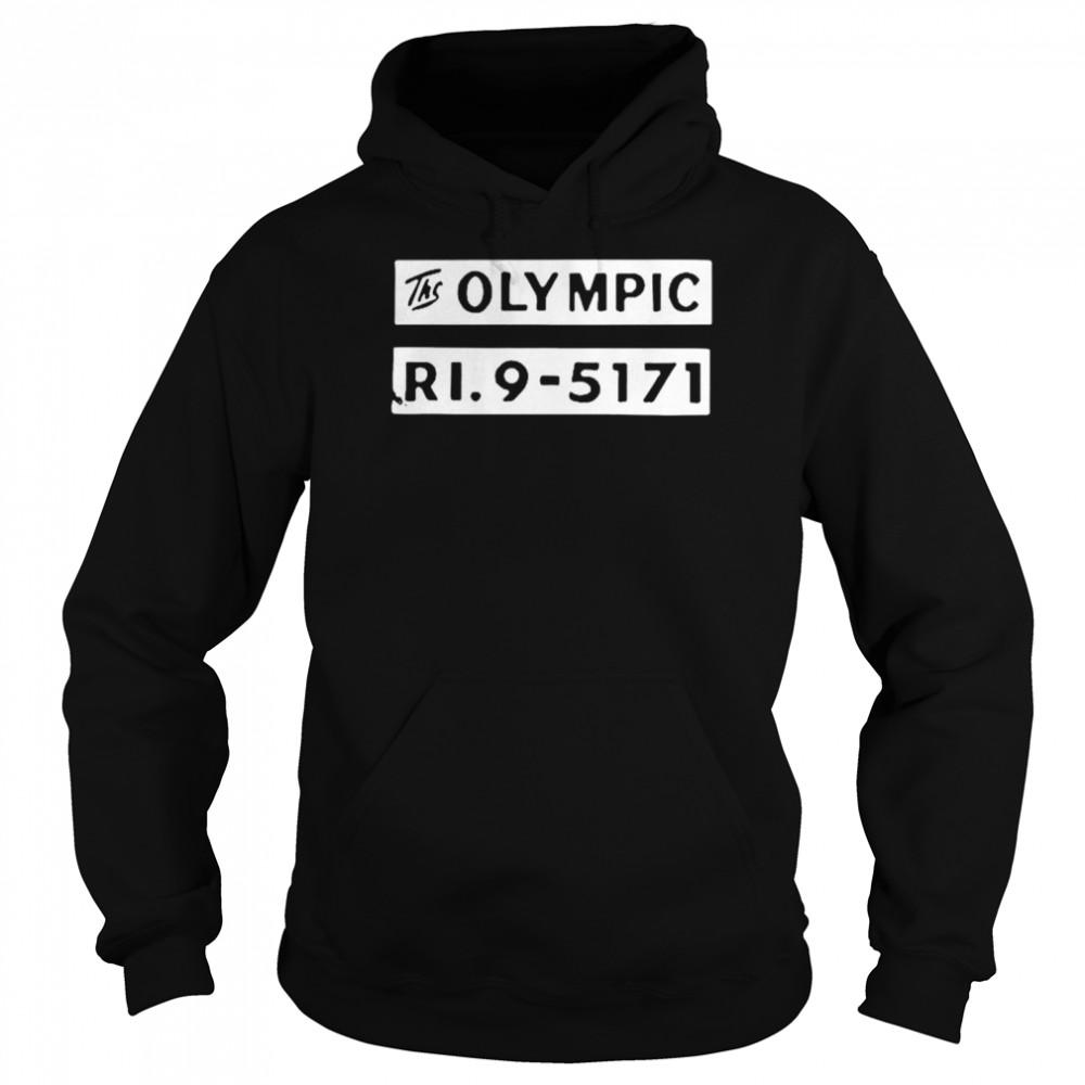 The olympic ri9 5171 shirt Unisex Hoodie