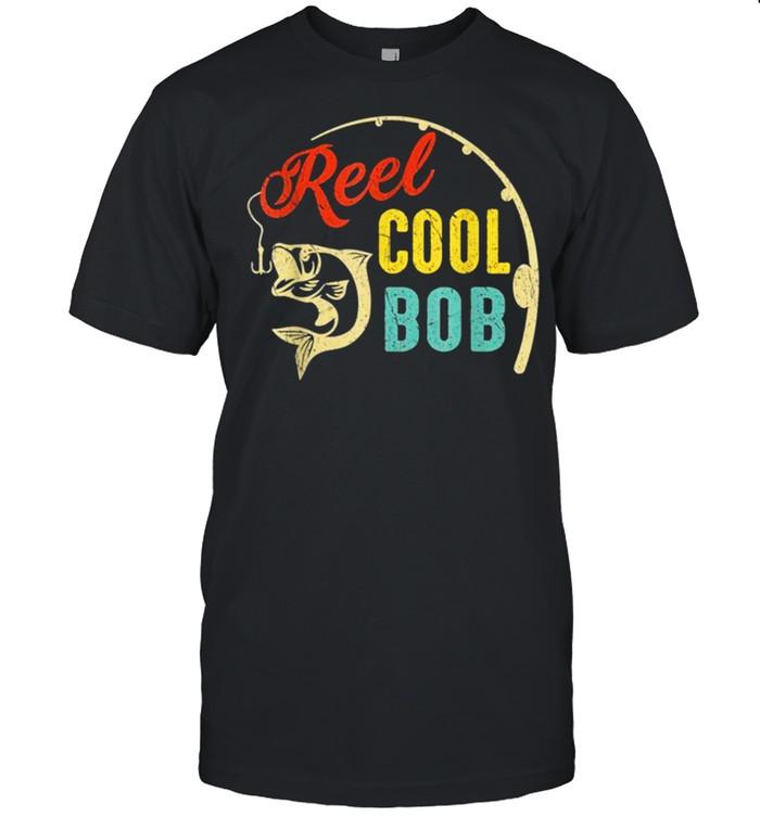 Vintage Fishing Reel Cool BOB shirt Classic Men's T-shirt