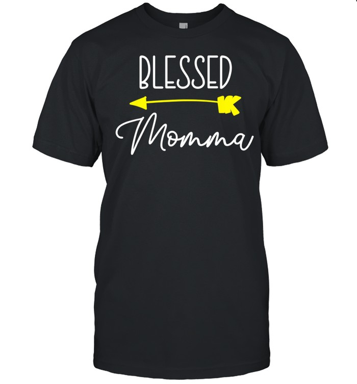 Blessed Momma Cool shirt Classic Men's T-shirt