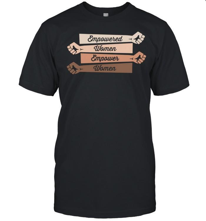 Hand Empowered Women Empower Women shirt Classic Men's T-shirt