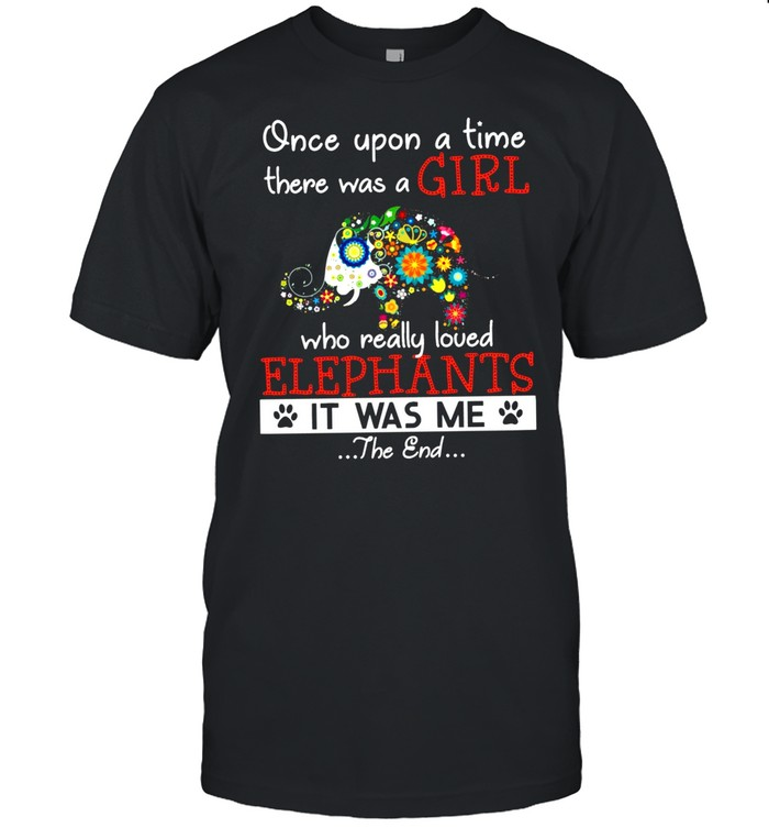Once Upon A Time There Was A Girl shirt Classic Men's T-shirt