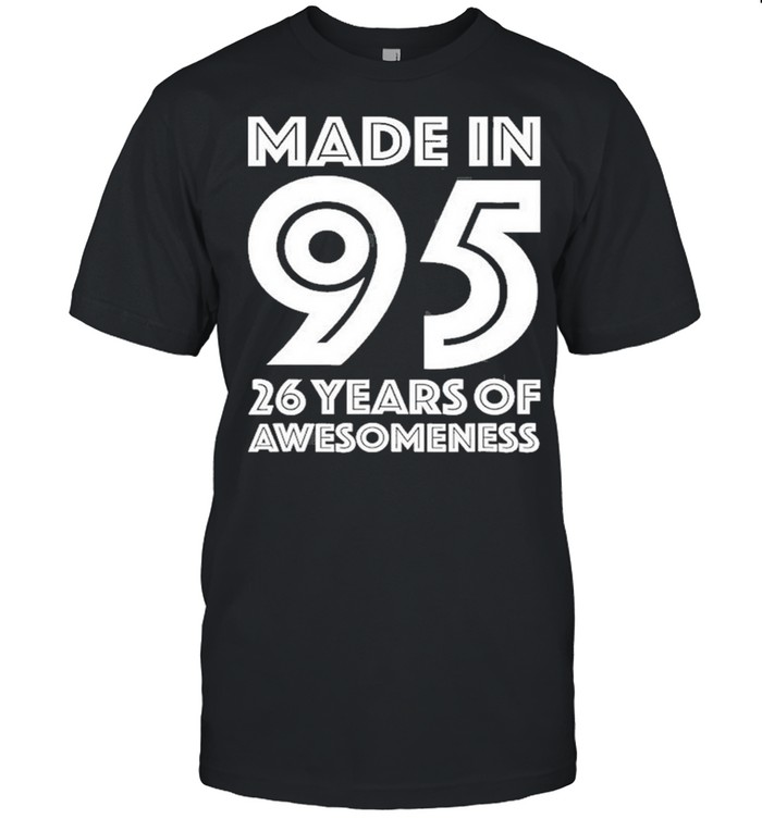 26Th Birthday For Him Men Age 26 Years Old Son 1995  Classic Men's T-shirt