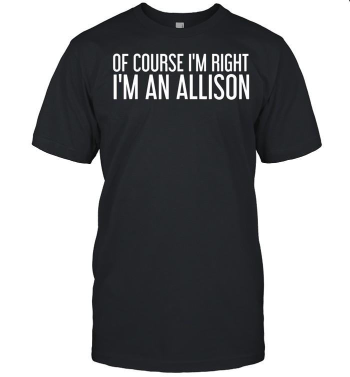 ALLISON Surname Family Tree Birthday Reunion Idea shirt Classic Men's T-shirt