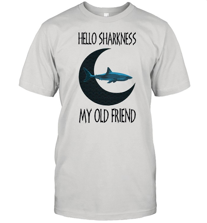 Hello Sharkness My old Friend  Classic Men's T-shirt