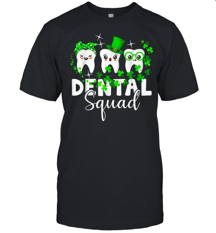 Tooth Leprechaun Hat Dental Squad St Patrick's Day shirt