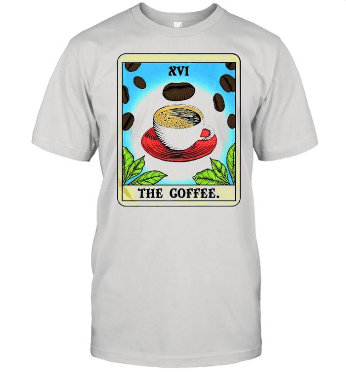Coffee S Cute Tarot Card  Classic Men's T-shirt