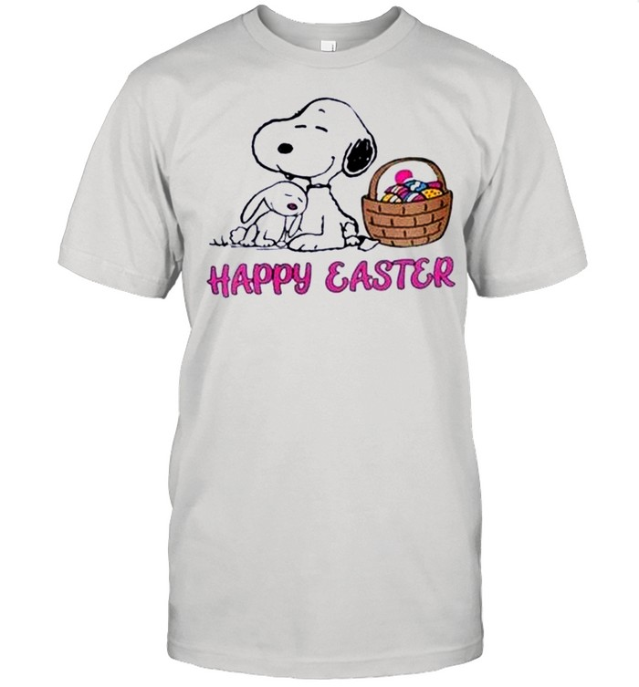 Cute Snoopy Easter Happy Easter Day 2021 shirt Classic Men's T-shirt