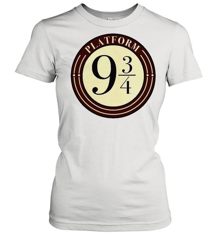 Harry Potter Platform 9 And 34 Simple Logo Classic Women's T-shirt