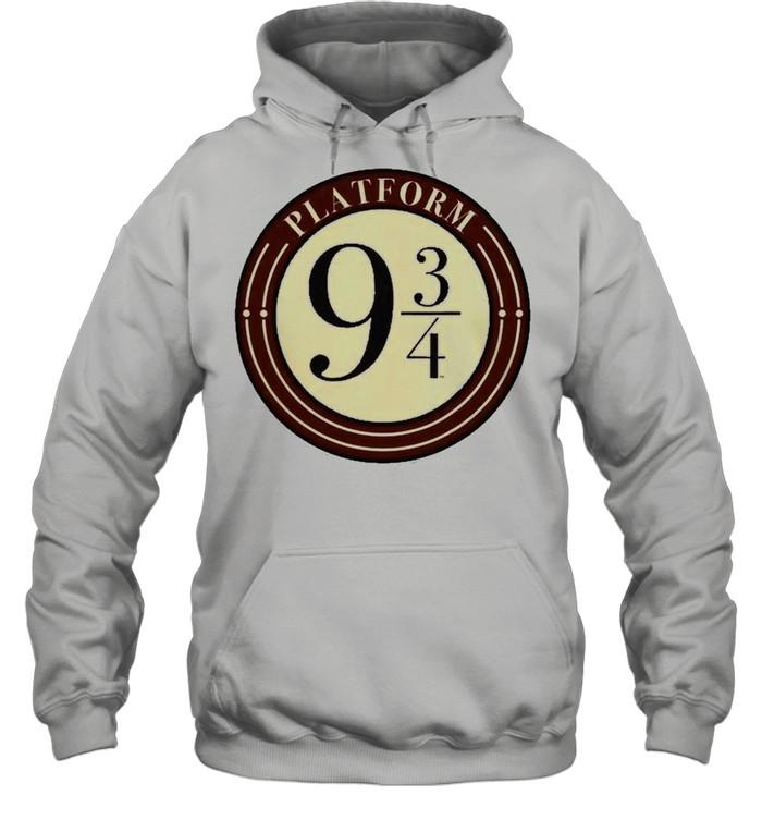 Harry Potter Platform 9 And 34 Simple Logo Unisex Hoodie