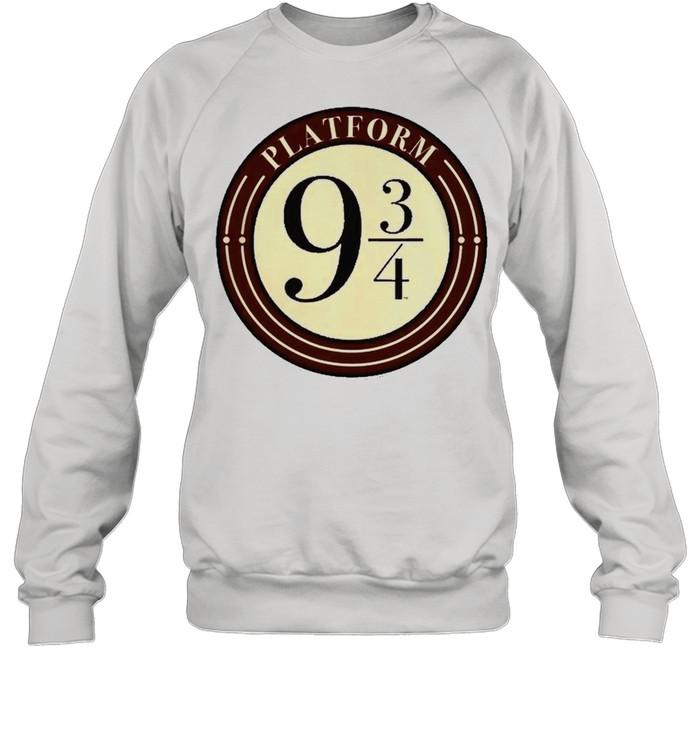 Harry Potter Platform 9 And 34 Simple Logo Unisex Sweatshirt