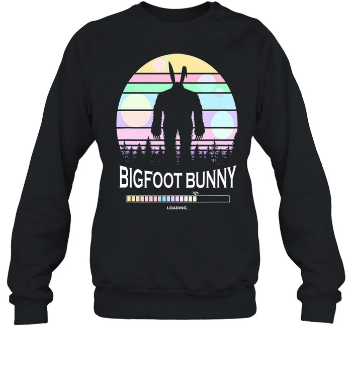 Bigfoot bunny vintage shirt Unisex Sweatshirt