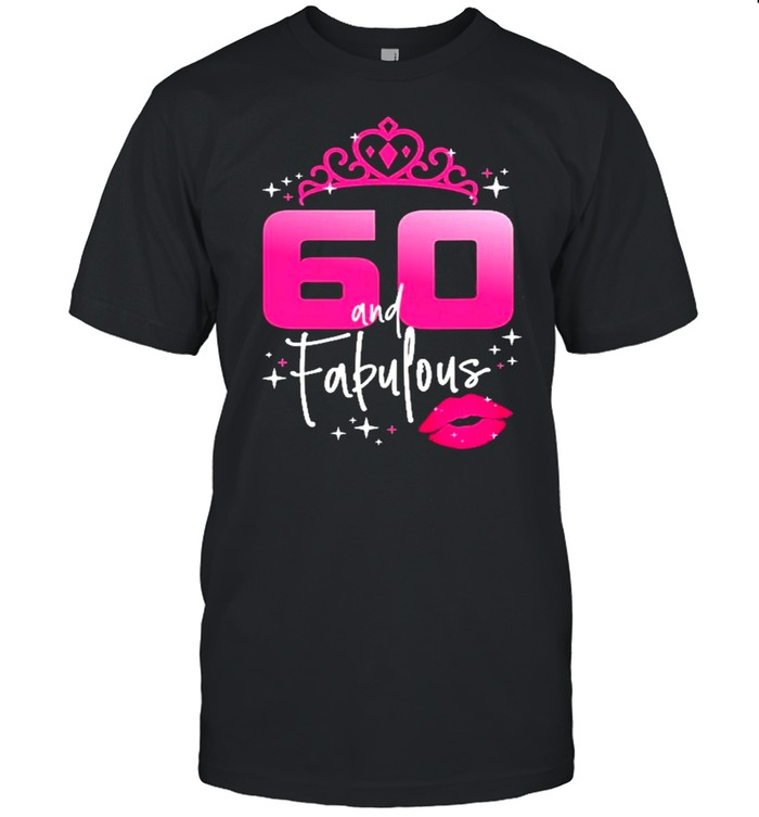 Fabulous At 60 Years Old  Classic Men's T-shirt