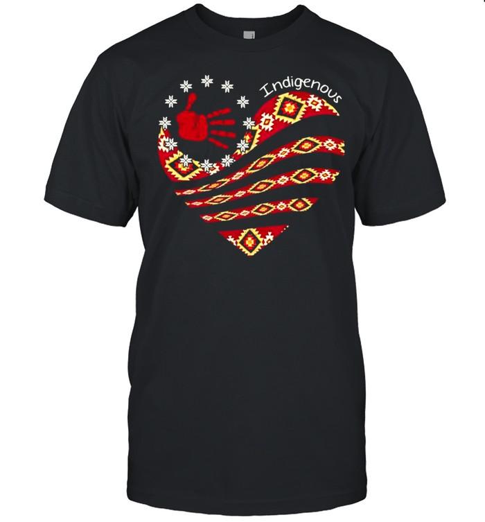 Indigenous Heart Shirt