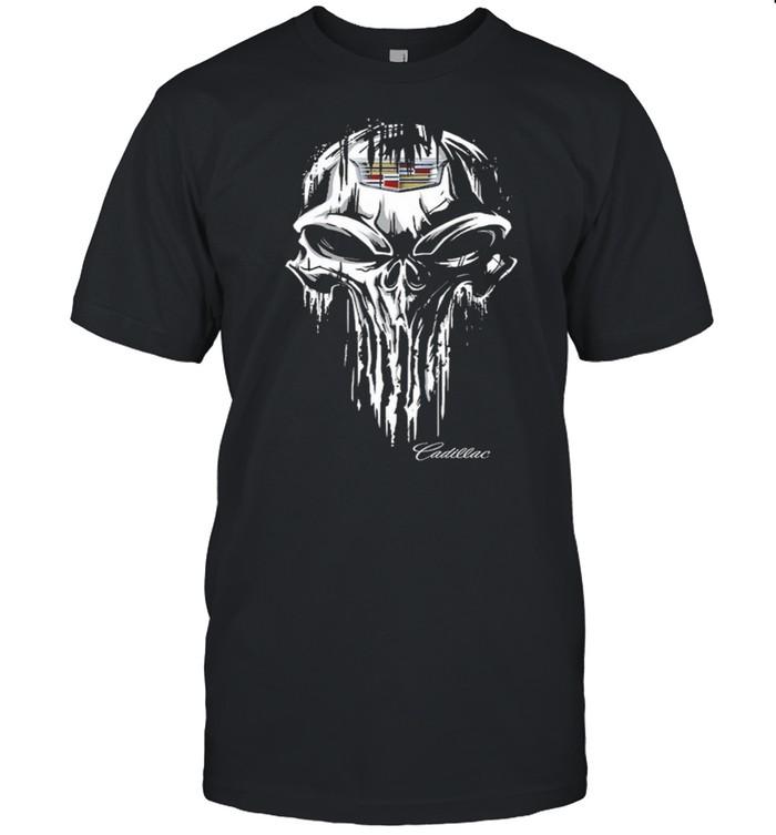 Skull Cadillac shirt Classic Men's T-shirt