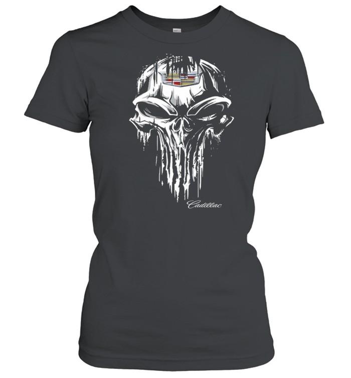 Skull Cadillac shirt Classic Women's T-shirt