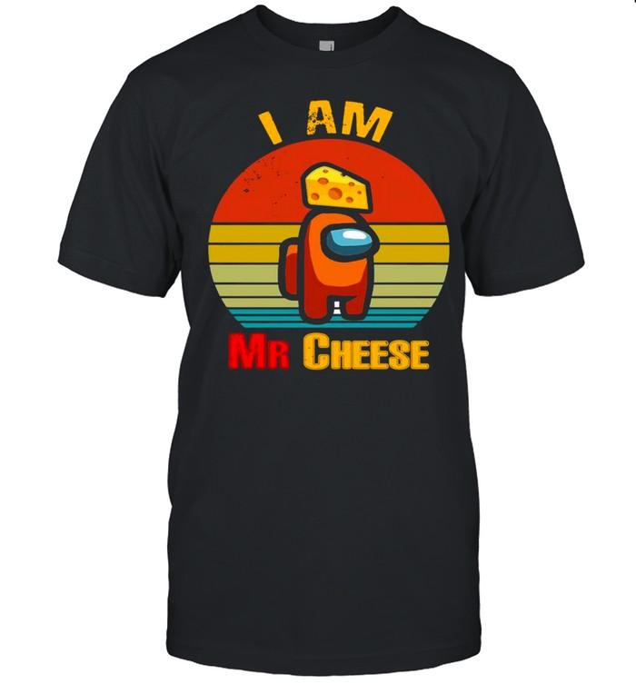 Among Us Impostor I Am Mr Cheese Vintage shirt Classic Men's T-shirt