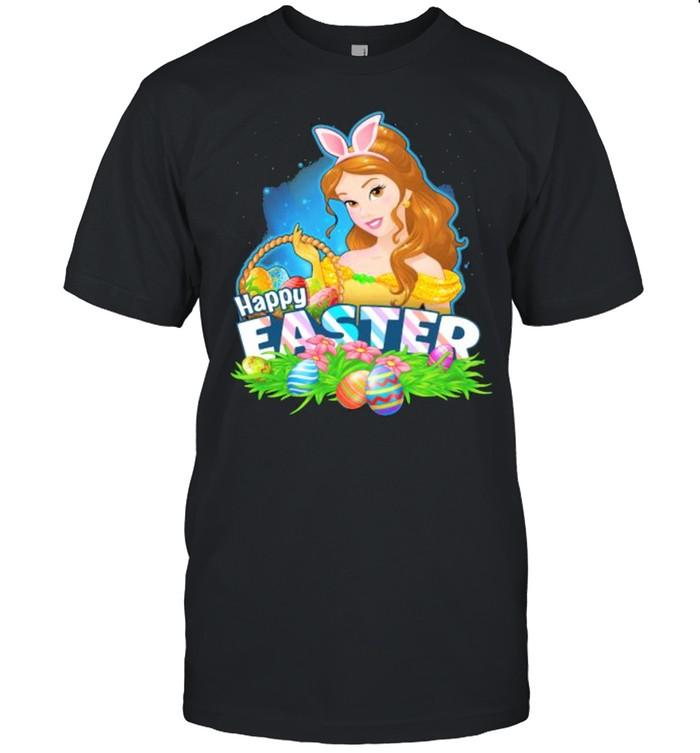 Happy Easter Day 2021 Egg Belle Disney  Classic Men's T-shirt
