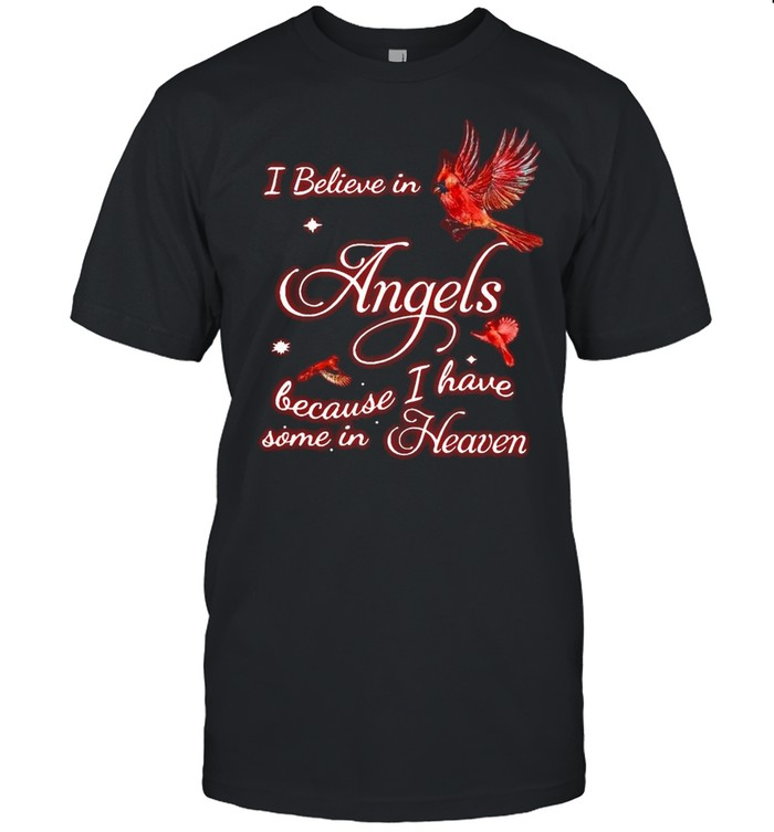 I Believe In Angel Because I Have Some In Heaven T-shirt Classic Men's T-shirt
