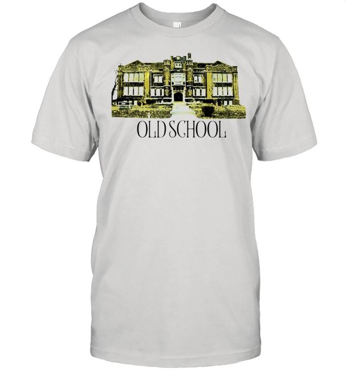 Kicking It Old School Literal yet ironic branded shirt Classic Men's T-shirt