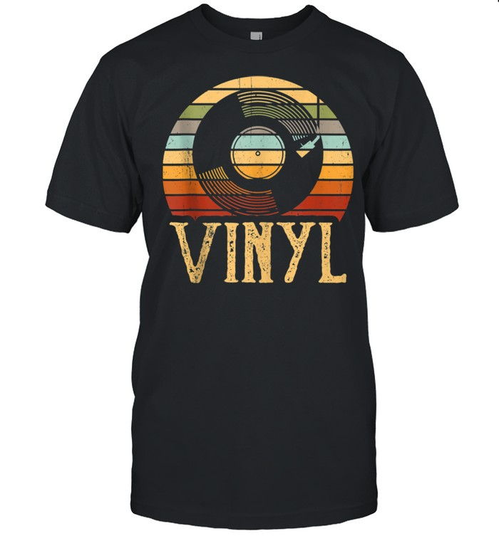 Vintage Vinyl Record Turntable shirt Classic Men's T-shirt