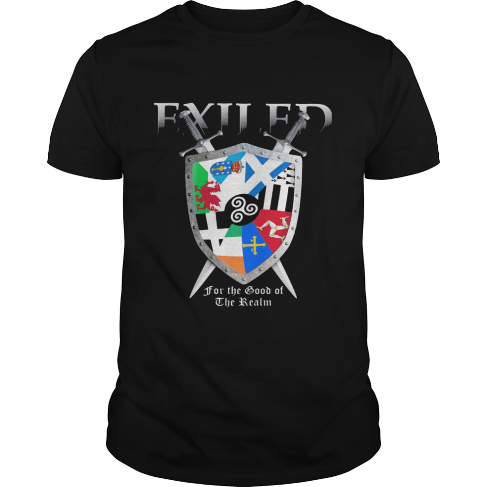 Exiled for the good of the realm symbol shirt Classic Men's T-shirt