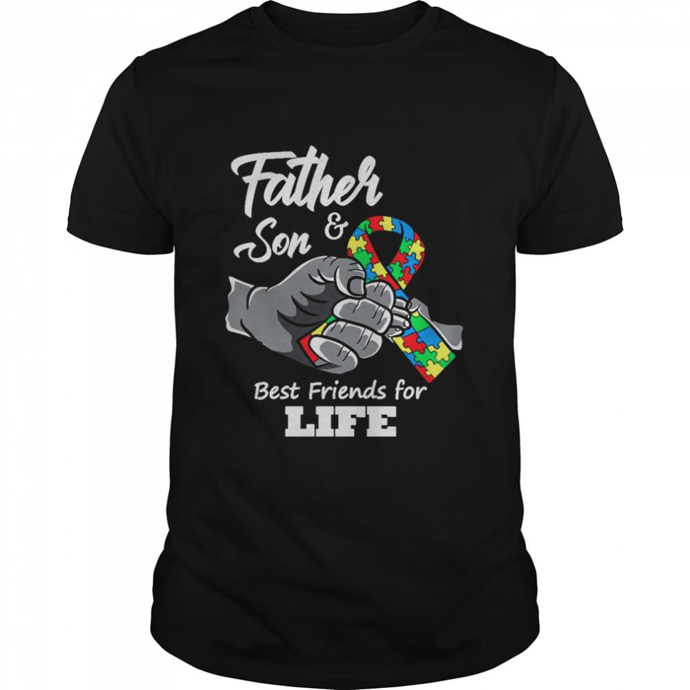 Father & Son Best Friends For Life shirt Classic Men's T-shirt