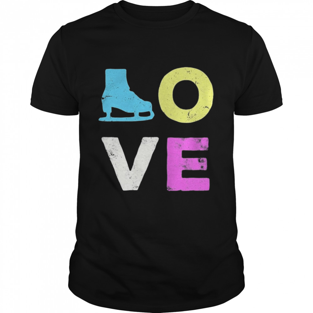 Love Skate Team Fan  Classic Men's T-shirt