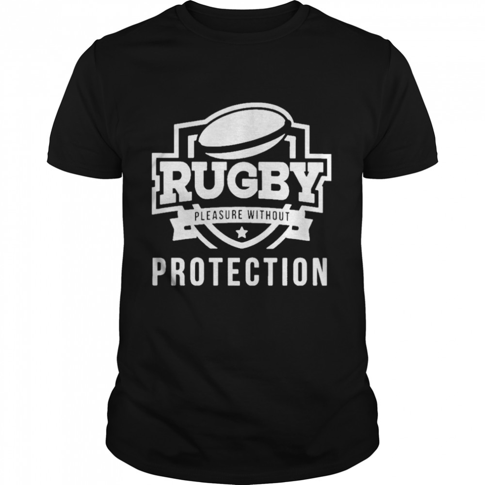 Rugby Pleasure Without Protection  Classic Men's T-shirt