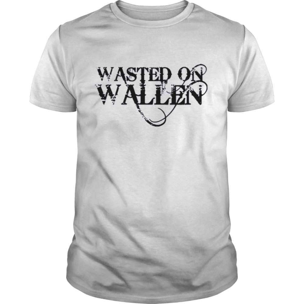 Wasted on Wallen shirt Classic Men's T-shirt