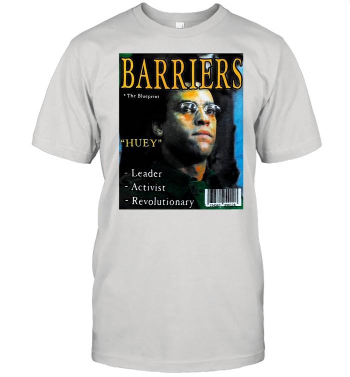 Barriers The Blueprint Huey Leader Activist Revolutionary T-shirt Classic Men's T-shirt